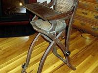 This old high chair is in what I would say, very good