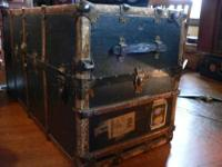 Circa 1908 Steamer Trunk I bought this many years ago