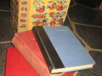 Antique Collectible Vintage Books Some old some very