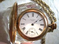 Stunning vintage Columbia pocket watch with an
