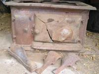 Antique Cook Stove (broken) Steiger & Kerr Stove & FDY