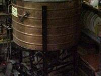 """This sale is for an Antique Copper """"Laun-Dry-Ette"""""""