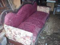 I have an old antique couch for sale. It needs some TLC