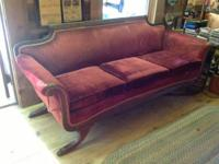 Antique Couch Sofa Asking $425.00 OBO call . Styled