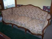 This antique sofa was purchased in the early 1950's