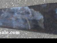 Antique D8 Handsaw 10.00 Rugged health condition. The