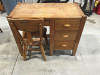 I have an antique desk for sale that is in great