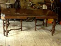 Here is a FULL Antique Dining Room Set which comes with