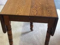 This table was made circa 1910. It is in good condition