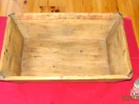 CUSTOMER . Dough box with canted parties and