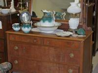 Antique Dresser with Mirror. Prices for specific