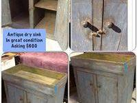 This is a primitive dry sink that determines 3' tall,
