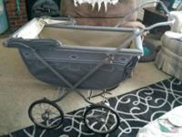 Antique Baby Carriage Early 1900's Style does not