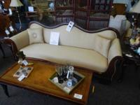 This stunning Edwardian style antique sofa is the