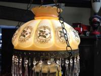 Wonderful hanging light from late 1800's (I believe).