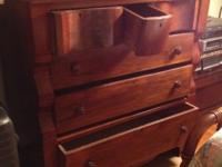Beautiful Empire style dresser. Can be seen in Louisa