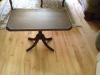 "27"" long x 16"" broad x 19.5"" high. Great pedestal"