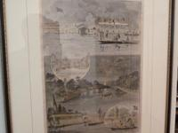 Antique Engraving Henley Regatta Circa 1888 Purchased