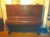 Estey new York cabinet grand piano, works. Best cash