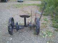 Pre Deering/McCormick hay cutter manufactured sometime