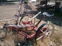 Antique Farming Equipment Yard Art $500 each Call or