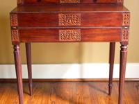 Antique Federal period fall front or drop front desk