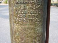 SELLING MY ANTIQUE FIRE EXTINGUISHER. IT IS IN AMAZING