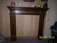 I have a real nice Ant Fire Mantel for sale for $100.00