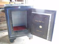 Antique Fire Proof Safe. Manuf by Cary Safe Company.