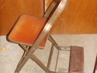 Antique Folding Praying Chairs Very Good Condition