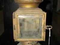 This is a great antique Ford Brass lantern. This