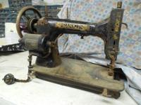 Antique Franklin sewing machine 70 + year old antique.