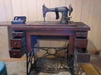 This is an antique Franklin sewing Machine, in it's