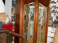 Late 19th Century French armoire is in excellent