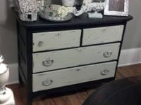 Awesome Old French / Shabby Chic dresser that has been