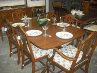 ROOM SETS, DINING SETS, TABLES, LAMPS, DESKS, CHAIRS,