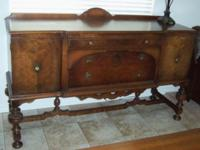 OW Richardson & & Co Buffet. Other pieces: Dining room