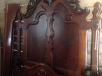 """Great Grandma's Bedroom Set."" Built in mid to late"