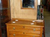 Antique Furniture for SALE: 3 Drawer Dresser and Mirror