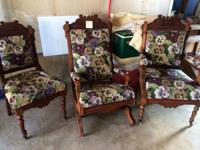 Good antique furniture for sale as we scale down for