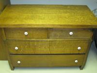 "Antique Oak Chest    $75    42"" long x 29  "" hi x 21"""