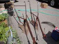 PERFECT FOR LAWN ORNAMENT plows $50/EA MARK  PAM