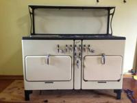 1936 Chambers Imperial Gas Range.  This is an antique.
