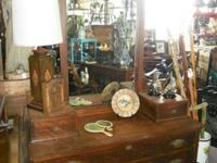 Attractive Antique Gentlemen's Cabinet, but women can