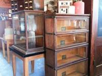 Beautiful 6 piece stacking Barrister Bookcase ~bottom