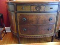 "This lovely ""Luna"" Buffet has been in the family for a"