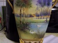 Original early 1900s Japanese hand painted Nippon