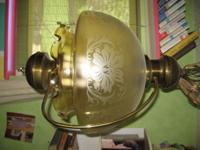We think this beautiful lamp is from the 1940's or