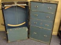 Antique Hartmann Wardrobe trunk built in the 20's or