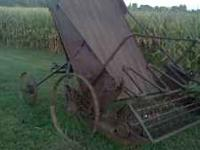 Antique hay wagon. 20's. 30's. 200.00 or best offer